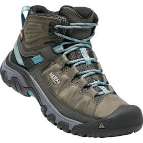 Keen Targhee III WP Mid Shoes Dame alcatraz/blue t